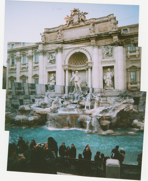 The Fontina di Trevi is my favorite place in Rome. Thank you for sharing this photo!  Enter to win $12,000 for a trip to Italy for 4 here: Italy Sweepstakes. —Judith Pena, Assistant to the Editor-in-Chief ins0litus:  cheeky trevi by Hello Joshua on Flickr.