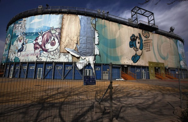 flavorpill:  Fascinating photos of abandoned Olympic sites