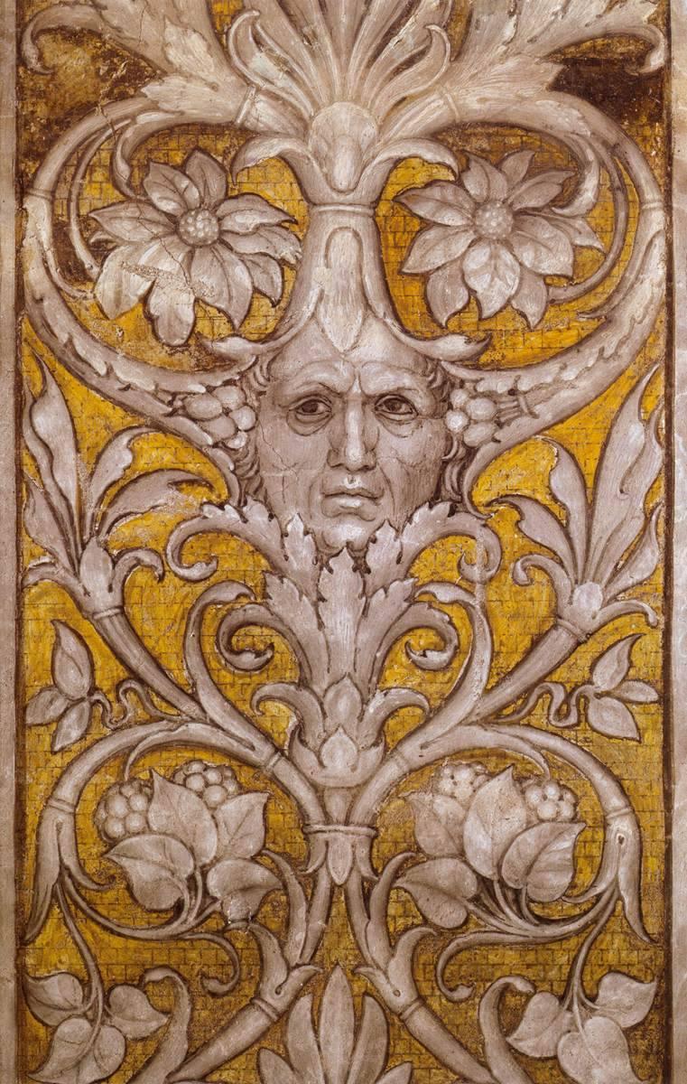 Hominis aevum andrea mantegna grotesque self portrait for Camarade de chambre