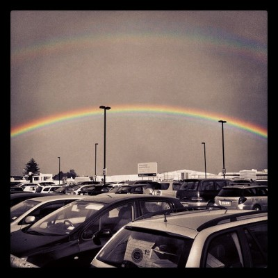 #double_rainbow #nz #auckland #igers #iphone4 #iphoneonly  (Taken with Instagram at Westfield St Lukes)