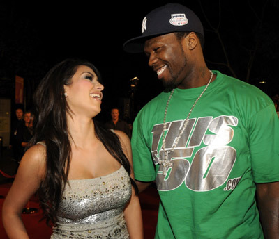50 Cent calls Kim Kardashian 'trash!' Yikes. Click for more!