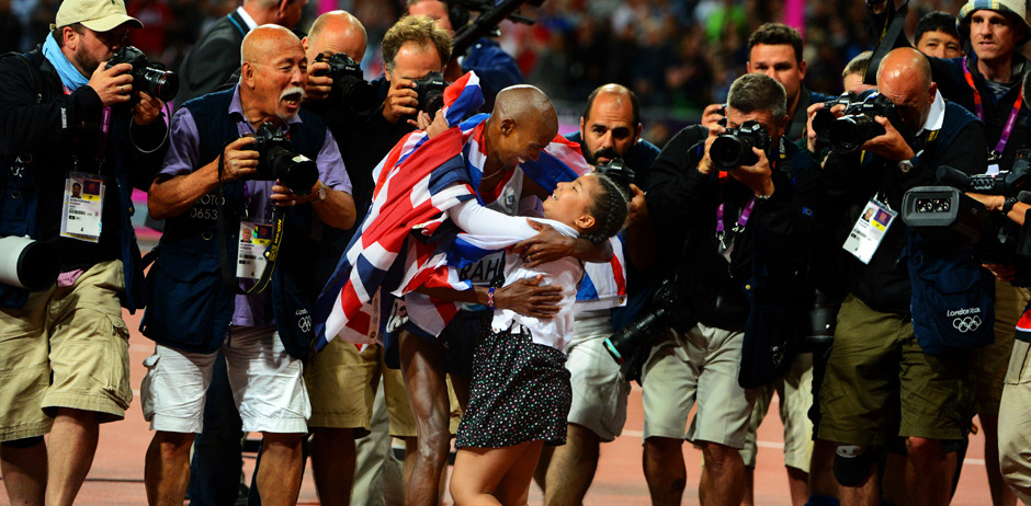 Our photographers chose their favourite photos from the Olympics, including this one of Mo Farah and his daughter. Click through to see our entire gallery.