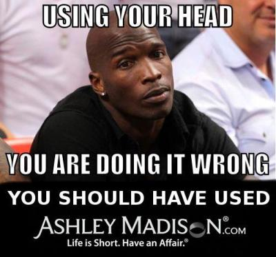 Chad Johnson, you are doing it wrong…