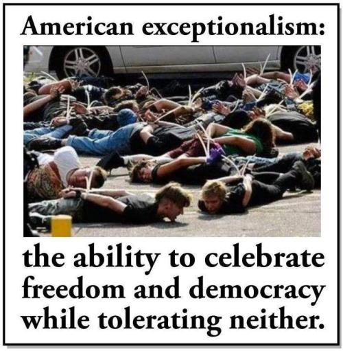 "Shouldn't the ""E"" in Exceptionalism be capitalized?"