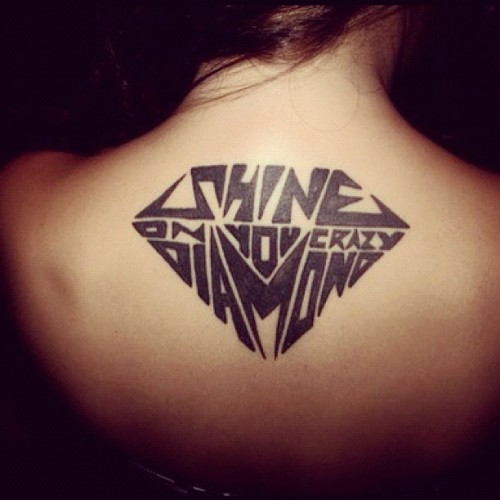 Shine on you crazy diamond @bssnva #pinterest #pinkfloyd #songs #tattoo (Taken with Instagram)