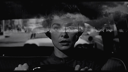 Janet Leigh as Marion Crane in Psycho (dir. Alfred Hitchcock, 1960) Love this frame!