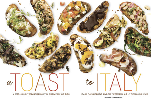 A look inside our first-ever Italian issue! Join the fun: #RRItaly