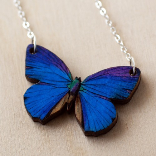 Gorgeous new Butterfly Necklace!