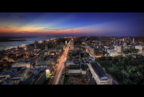 My hometown, Maputo (Mozambique)!