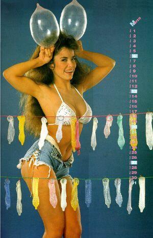 Gloria Trevi Calendario 1993 Trevi calendario 1993