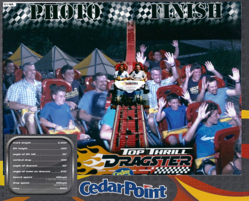 Top Thrill Dragster - Cedar Point, Ohio August 7, 2012.