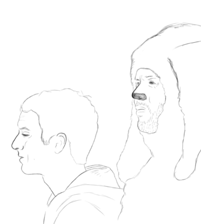 A quick Wilfred sketch I started..