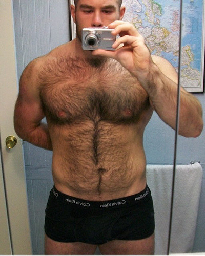 mykindofhotmen:  Who else wants to get lost in that forest of body hair?