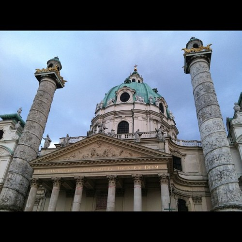 Quick drive through Vienna, I wanna staaaaaay! (Taken with Instagram)