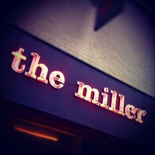 It's Miller Time (Taken with Instagram at The Miller)