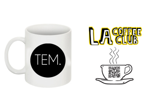 I had the opportunity to partner with LA Coffee Club in order to get a very fresh supply of locally roasted coffee (100grams = 6-8 cups of coffee) to accompany with the TEM Coffee Mugs I am offering for my Kickstarter campaign. You can get yours here.