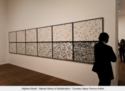 "Boetti at MoMA, review by CORINNA KIRSCH / artfagcity.me""Before His Birth, Nate Hill Speaks Through Alighiero Boetti at MoMA""http://www.artfagcity.me/article.php?id=124"