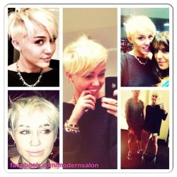 Miley Cyrus gets a new look. Thoughts? #hair #celeb #rocker #miley #cyrus #beauty #blonde #pixie #color #short #celebrity #new #look #image #pop #popculture #news #hairnews (Taken with Instagram)