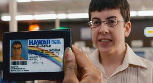 sangree-guanajuatensee:  MCLOVIN ? Seems Legit >:D lmfao LOL!