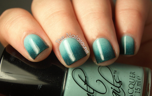 thenailasaurus:  The Nailasaurus: Greendient