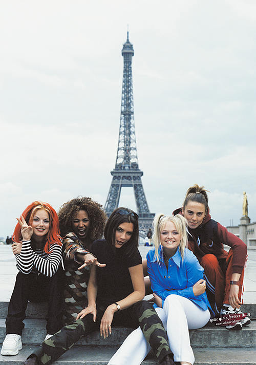 Spice Girls 1996 Tim Roney photoshoot (Paris) | (x)