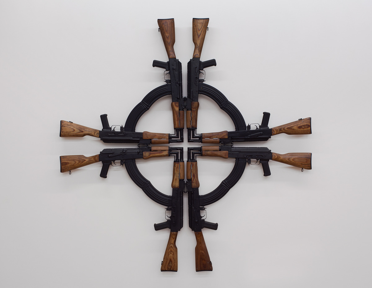 Mel Chin, Cross for the Unforgiven, 2012 (Tenth Anniversary Edition)