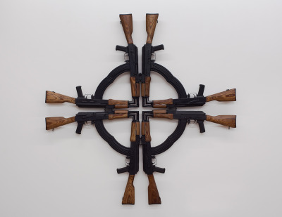 thingsorganizedneatly:  Mel Chin, Cross for the Unforgiven, 2012 (Tenth Anniversary Edition)