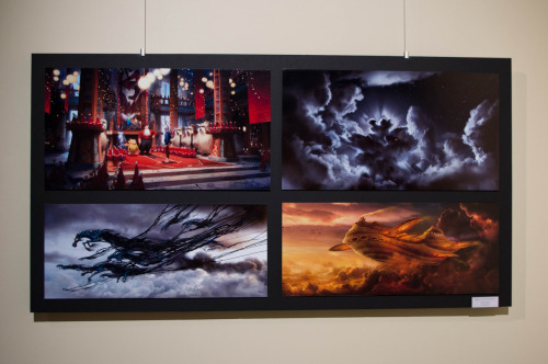 kris0ten:  ROTG concept art from the DreamWorlds gallery at USC Patrick (production designer) told me that two of these were done by him. Guess which two!