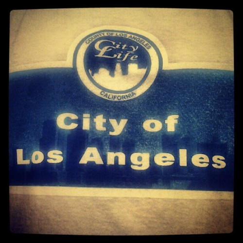 @citylifeliving #CityLifeClothes #LA #CityOfLosAngeles (Taken with Instagram)