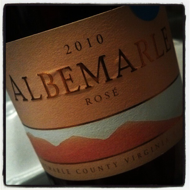 #ND Albermarle Rose from Kluge Estate Winery (Taken with Instagram)