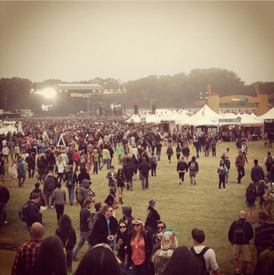 Outside Lands Festival in San Francisco 2012