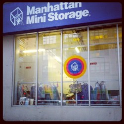 I think there may be a yard sale going on inside the Manhattan Mini Storage on Varick.  (Taken with Instagram)