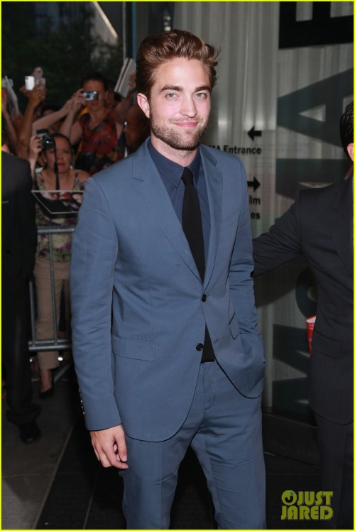 Cosmopolis premiere at the Museum of Modern Art in New York City (x)