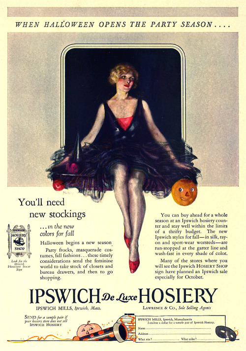 Vintage stockings ad.