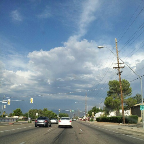 Beautiful Tucson weather (Taken with Instagram)