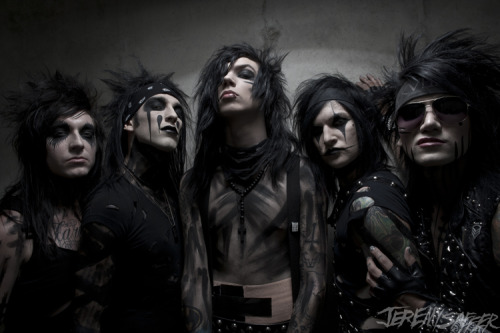 Black Veil Brides. Warped Tour 2011.