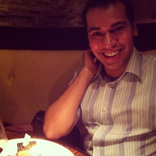 It's someone's birthday. Shhh. He's 30!!!!! (Taken with Instagram at Abbocatto)