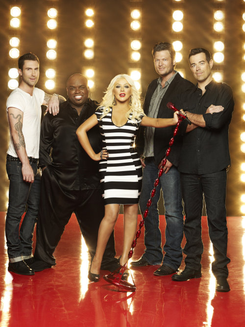 nbcthevoice:  Seriously, is it September 10th yet!? This NEW Season 3 art has us giddy with anticipation!    Oh how I've missed watching Blake & Adam… Ok the whole crew really : )