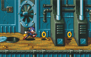~Screenshot from the scrapped Sonic-16 (not official title). The game was cancelled by Yuji Naka because of its slow-running demo, but was meant to tie in to the Sonic the Hedgehog TV series, being more story-driven than its predecessors. One developer of Sonic X-Treme claims that Sonic-16 was another of the former's developmental stages~