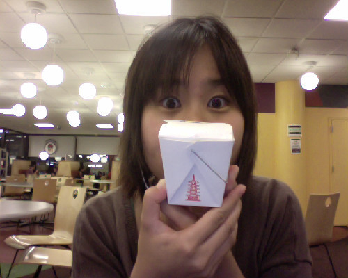 SUCH A TINY BOX FOR RICE. WAT.