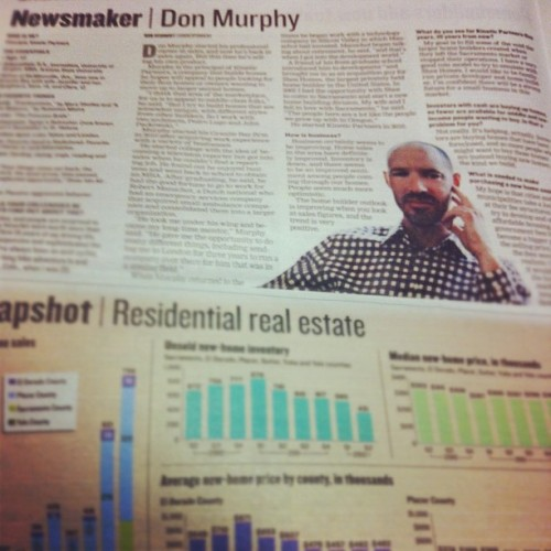 My Client.  #newsmaker #kinetic #california  (Taken with Instagram)
