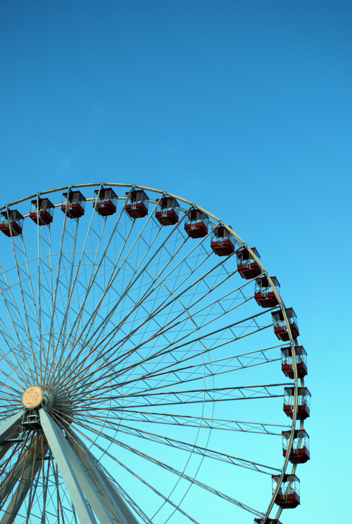katzphotography:  Ferris Wheel at Navy Pier.