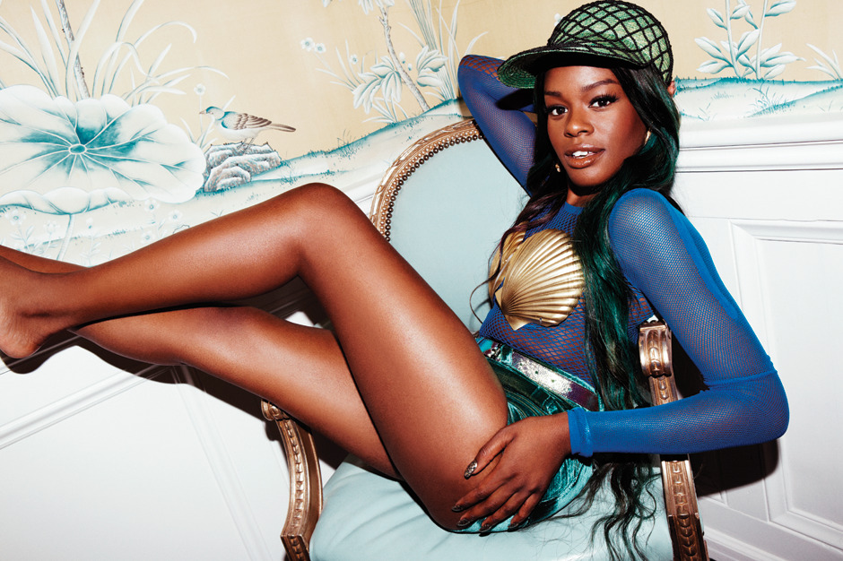 Azealia Banks - Spin by Jason Nocito, September/October 2012