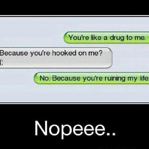 keep-em-guessing:  Bazinga! #funny #lol #lmao #bazinga #drug #texts #fails (Taken with Instagram)