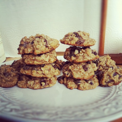 Home made Oatmeal raisin chocolate chip :)