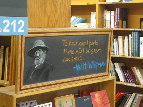teachingliteracy:  (by Shira Golding)  I miss you, Powell's
