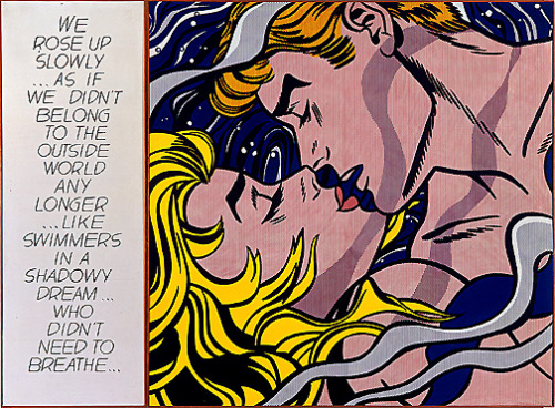 near-and-dear:  We Rose Up Slowly | Roy Lichtenstein