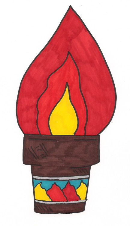 Daily Ice Cream Drawing…Burning…