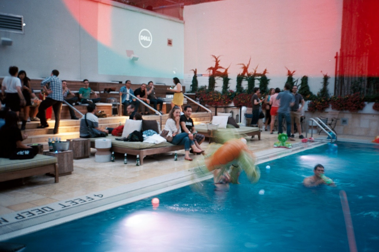 Tumblr Pool Party!Reblorg Website Launch