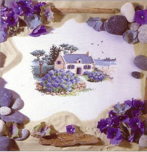 Lilac cottage pattern